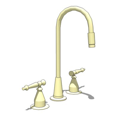 Kohler Antique (K118-4)entertainment sink faucet..