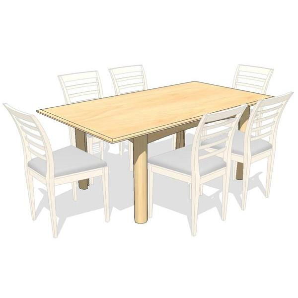 Heartwood Dining Set. Rectangle and Round Table ar....