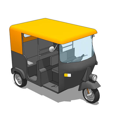 TukTuk, the motorised rickshaw common throughout S....