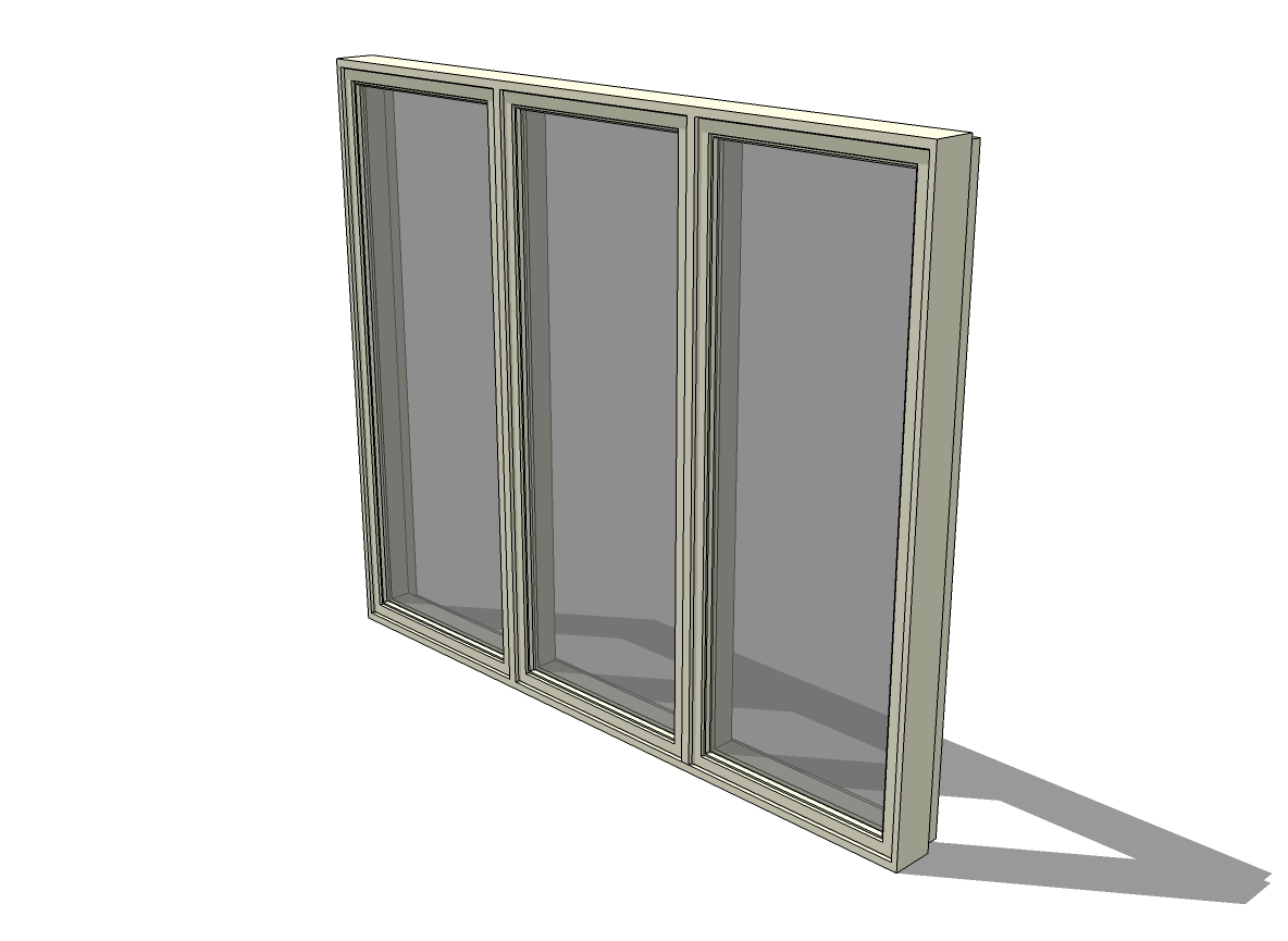 C3-Class TRIPLE Casement Window 200 Series by Ande....