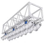"View Larger Image of 120"" PreRigged Aluminum Truss"