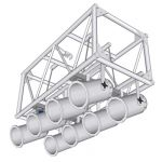 "View Larger Image of 60"" PreRigged Aluminum Truss"