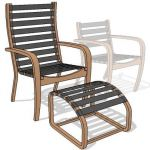 Indonesian teak chair consist of a high back
