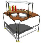 View Larger Image of Buffet tableset C01