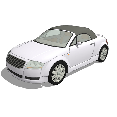 Audi TT Roadster; Roof up and down versions..
