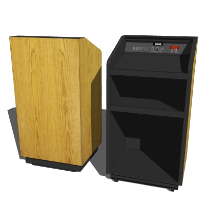 DaLite Lexington Series Lectern and 