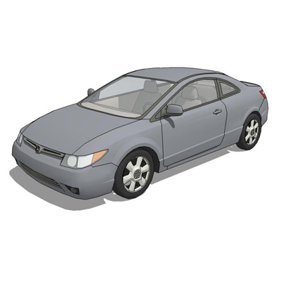 Honda Civic Coupe 2006.