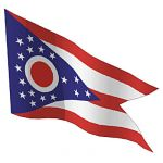 View Larger Image of US State Flags New York - Ohio