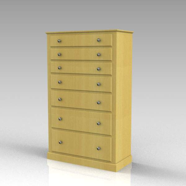 A dresser / chest of drawers.  4ft 1.2m high.