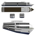 River Cruise Ship. 100mt LOA