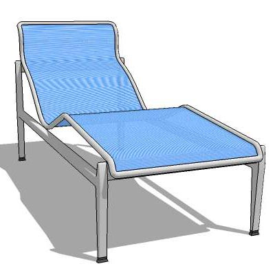Generic deck/pool lounger.