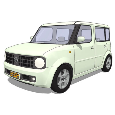 Nissan Cube people carrier.