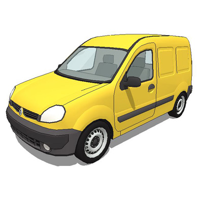 Renault Kangoo light van.