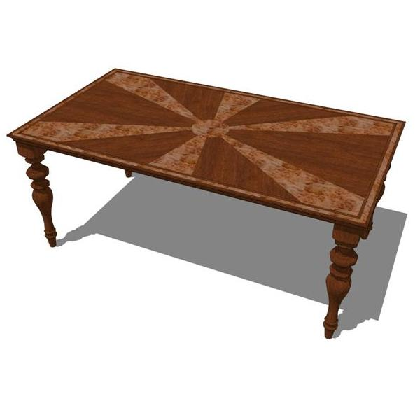 Inlay Dining Table..