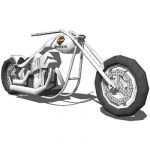 Harley Davidson-Phat Boy.