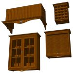 View Larger Image of FF_Model_ID5145_SunflowerCabinetSet.jpg