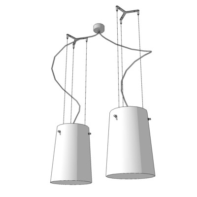 Prandina® Double Suspended Light Fixtur....