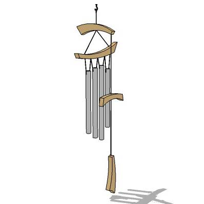 Generic wind chime.