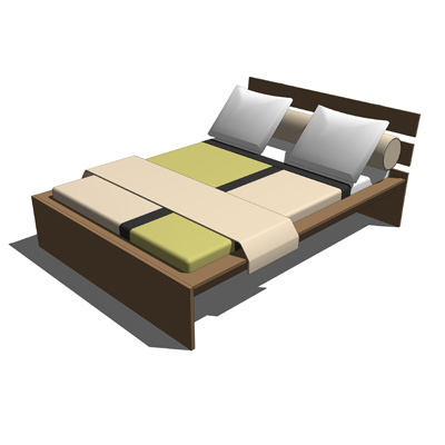 Ikea HOPEN bed, easy to assemble and very comforta....