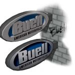 Buell logo signs,single logo and sign for grocery ...
