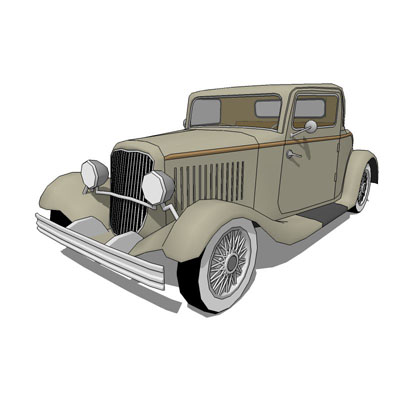 This is the classical Ford Coupe'32 in two version....