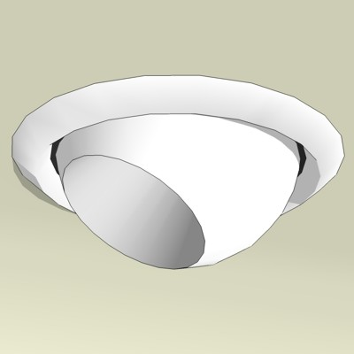 4in OD Recessed Light MR16 Fixtures. Modeled after....