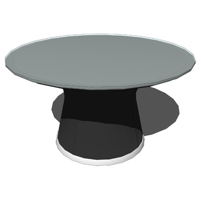 This table gives the impression of a crystal disc ....