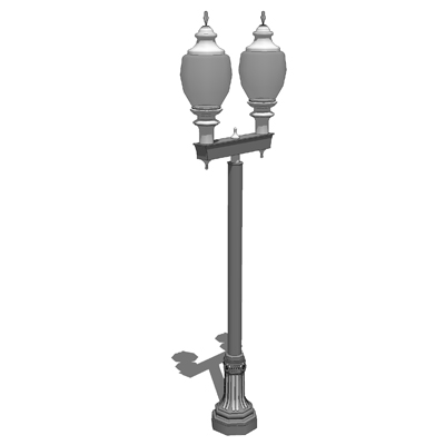 Model based on the Cleveland Series Light Poles by....