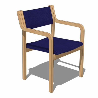 Dining chair by Korhonen.