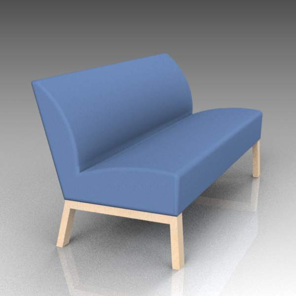 Robust sofa by Materia.