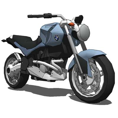 BMW r 1200 r motorcycle.