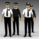 UK police officers.