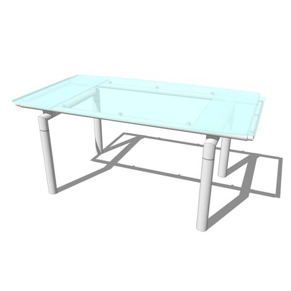 Nova Dining room table. Table extends 14 inches on....