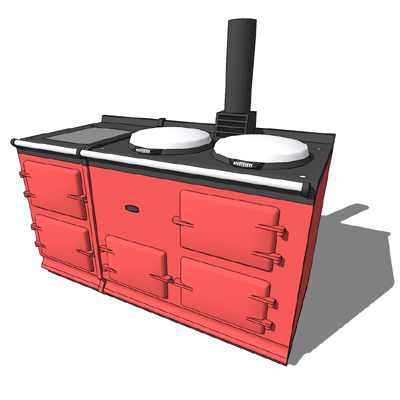 Aga 4 Oven