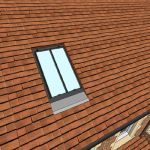 CR-9 conservation style rooflight