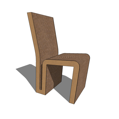 Side Chair, from 'Easy Edges' collection, designed....