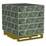 Pallet & Load for Warehouse Equipment. 