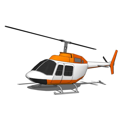 The Bell Helicopter Model 206 JetRanger is a two-b....