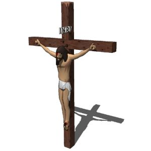 View Larger Image of Statue of Jesus crucifix