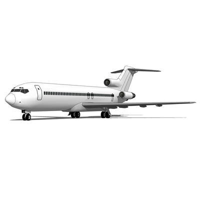 The Boeing 727 is a mid-size, single-aisle (narrow....