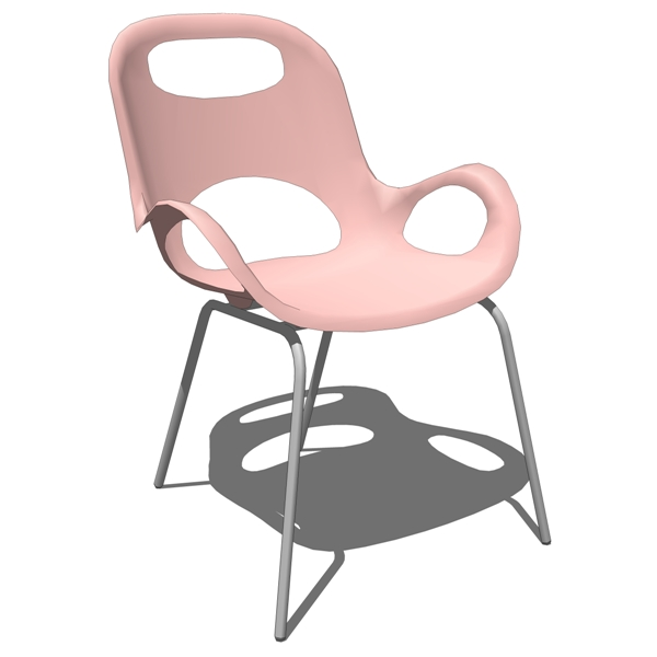 Sturdy yet flexible, the Karim Rashid Oh Chair has....
