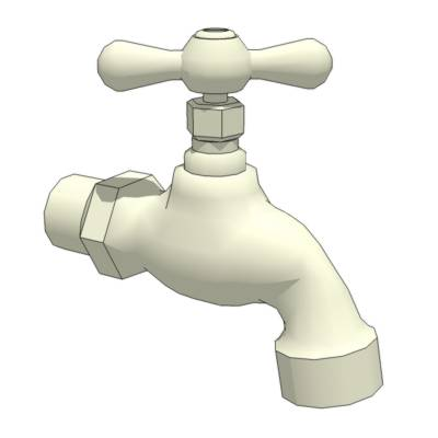 Hose Bibb plumbing faucet. Versions available With....