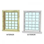 View Larger Image of FF_Model_ID7460_WoodwrightDoubleHung_Window_Single_4x3lite_i.jpg