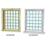 Series 400 Double Hung windows by Andersen. Fully ...