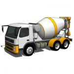 Concrete Mixer Truck, based on Volvo FM12