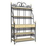 Wrought iron baker's rack by Herreria Gallegos.