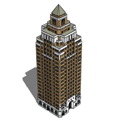 Generic 1930s skyscraper, based on the Marine Buil....