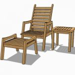 Indonesian teak furniture set