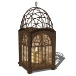 Arboretum lantern. Combining design elements that ...