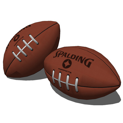 Football (Rugby) ball  ''Spalding'' and ball in pa....